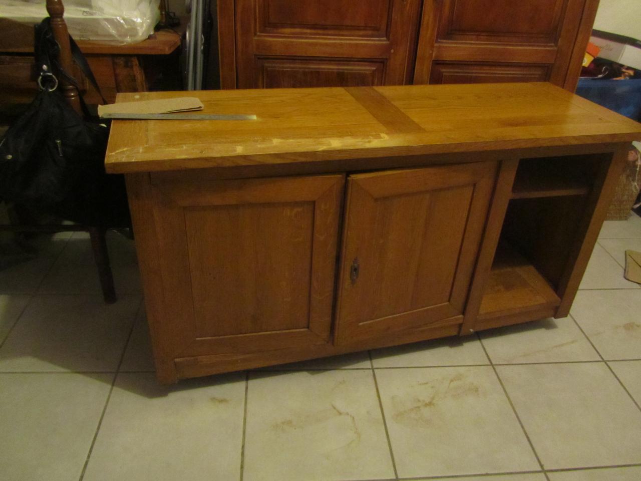 tapes de r novation et tranformation d 39 un vieux meuble trouv dans vide grenier. Black Bedroom Furniture Sets. Home Design Ideas